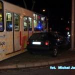 Kolizja z tramwajem