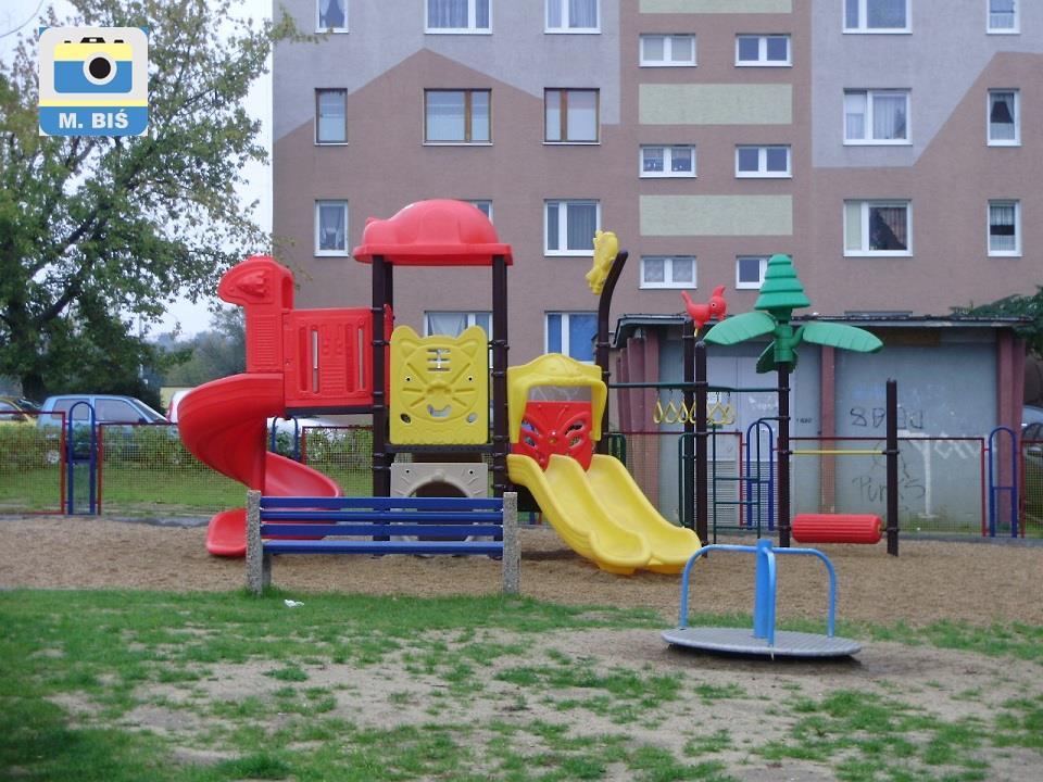 Plac zabaw przy ul. Orkana