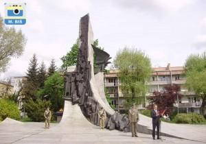 Uroczystości na Placu Pamięci Narodowym