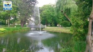 Park Staszica, fontanna