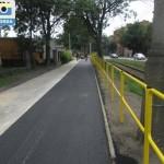 Droga rowerowa na chodniku al.Wolności