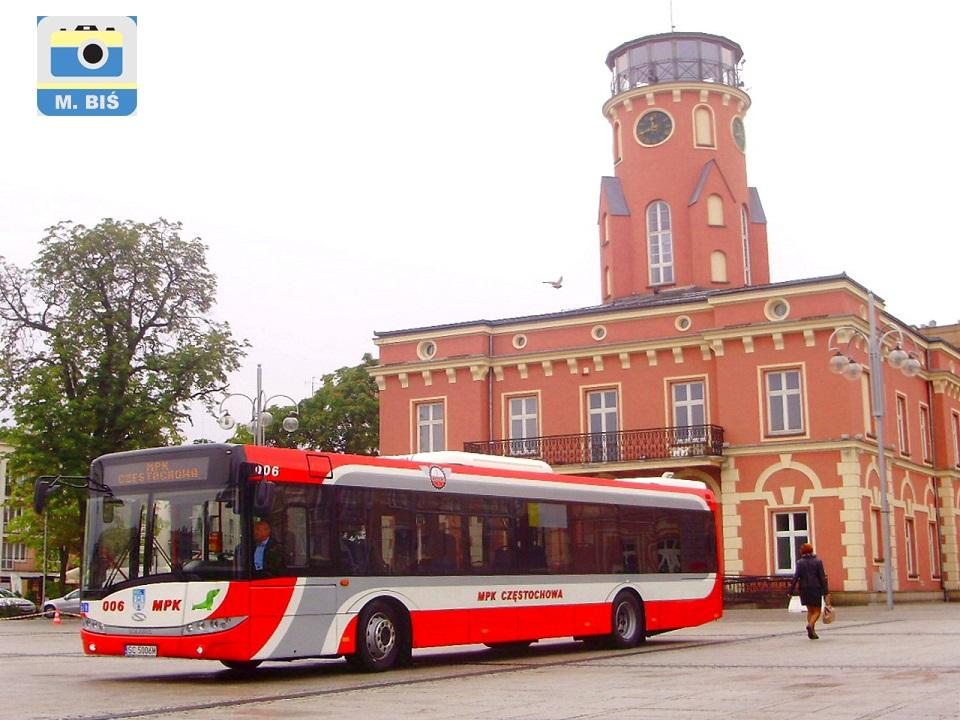 Autobus Solaris III, pl.Biegańskiego, Ratusz
