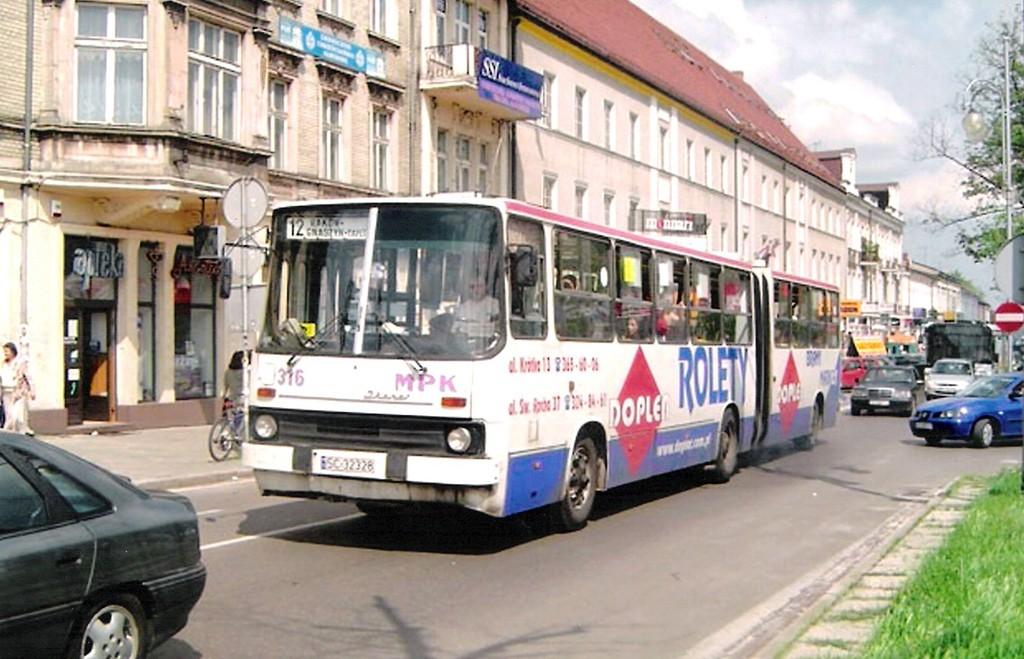 autobus w I al. NMP [© autor]