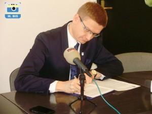 Prezydent Krzysztof Matyjaszczyk [M.Biś}