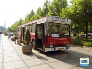 Autobus w III alei NMP