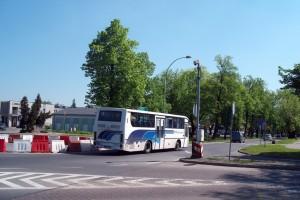 Autobus PKS, Rynek Wieluński