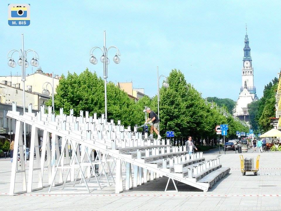 Plac Biegańskiego - strefa kibica