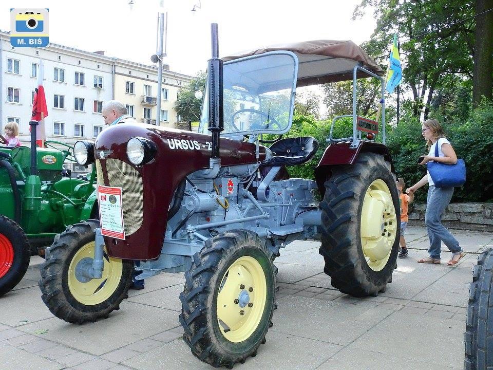 Dożynki - traktor