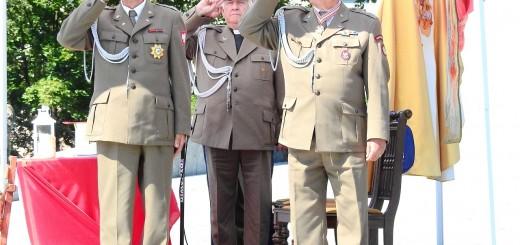 Uroczystości patriotyczne - żołnierze
