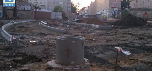 Budowa łącznika Racławickiej i Staszica
