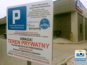 parking przy ALDI