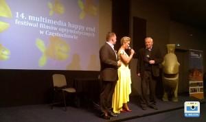 Marian Dziędziel na Festiwalu Filmów Optymistycznych