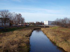 Rzeka-kanał Kucelinka