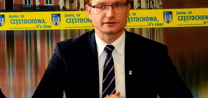 Prezydent Krzysztof Matyjaszczyk