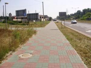 Ciąg pieszo-rowerowy
