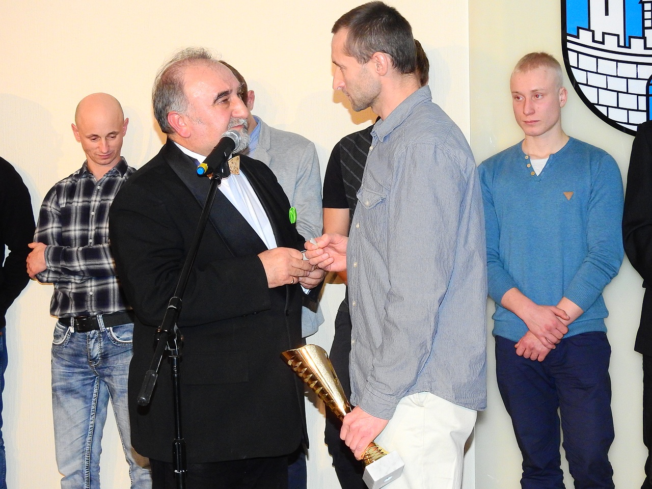 wręczenie nagród, Janusz Danek