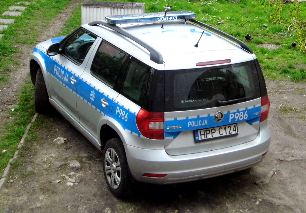 Policja - radiowóz