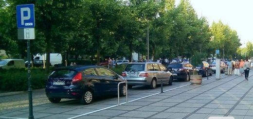 Parkowanie w III Alei NMP