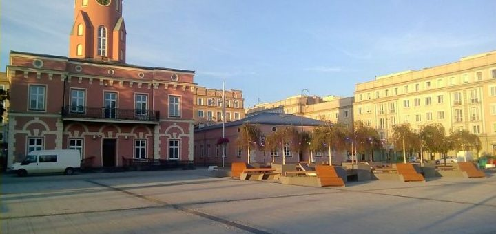 Plac Biegańskiego, zieleniec