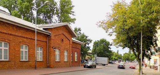 dworzec Częstochowa, Piłsudskiego, Konduktorownia