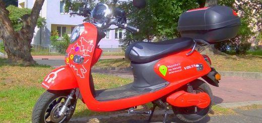 Elektryczny motorower JedenŚlad