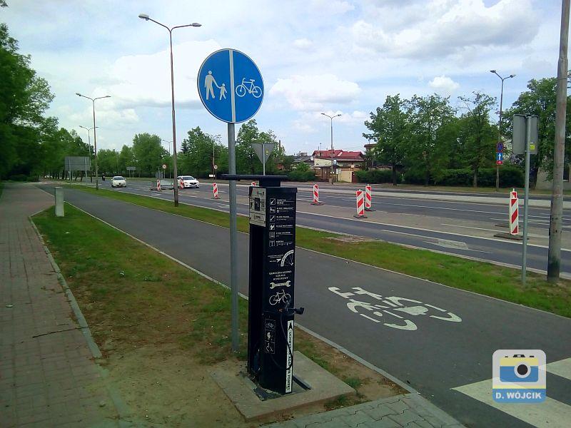 Samoobsługowa stacja rowerowa