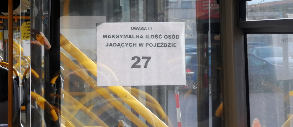 Limit miejsc w autobusie