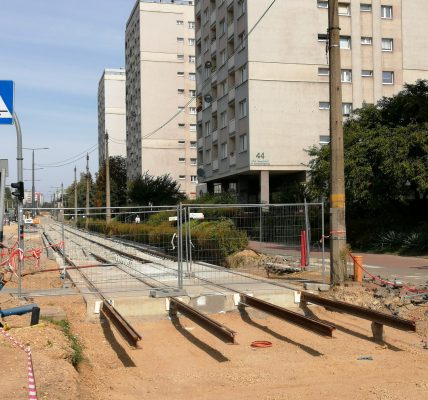 Remont linii tramwajowej