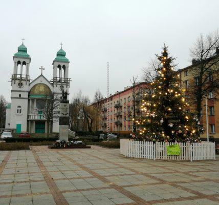Choinka na pl. Orląt Lwowskich