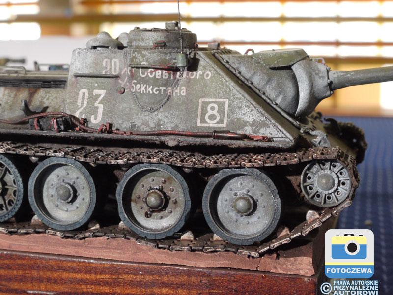 Model czołgu, fot. Krzysztof Janczarek