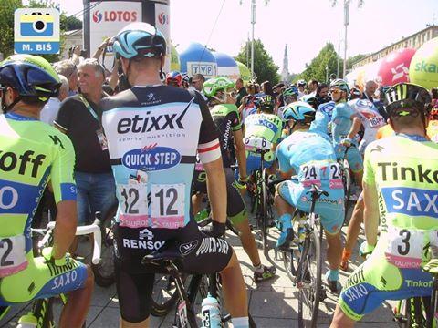 kolarze - Tour de Pologne