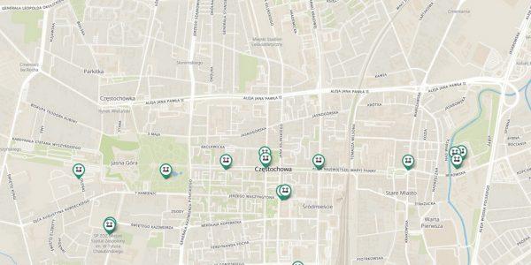Darmowy Internet - mapa